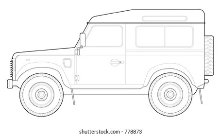 Land Rover Defender Images, Stock Photos & Vectors