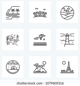 Similar Images, Stock Photos & Vectors of Travel set icons