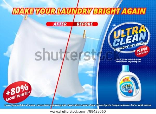 laundry detergent ads bright