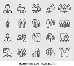 Business Training Icon Images, Stock Photos & Vectors
