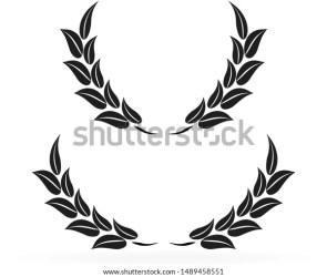 Leaf Circle Frames Illustration Vector Leaf Stock Vector Royalty Free 1489458551
