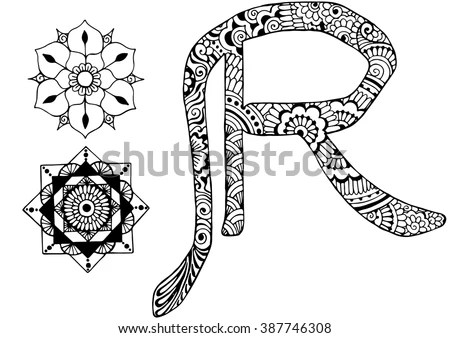 Letter R In Different Styles