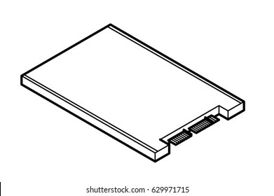Hard Drive Disk Draw Images, Stock Photos & Vectors