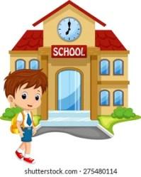 Cartoon School Images Stock Photos & Vectors Shutterstock