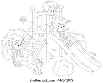Children's Coloring Book Images, Stock Photos & Vectors