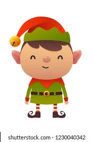 cartoon elf images stock