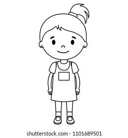 Similar Images, Stock Photos & Vectors of Girl vector