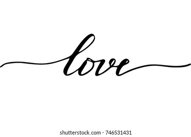 Download Love Calligraphy Images, Stock Photos & Vectors | Shutterstock