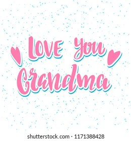 love you grandma images