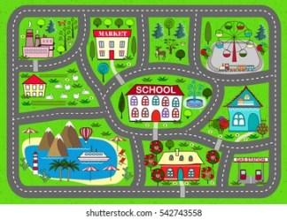Map Town Kids Images Stock Photos & Vectors Shutterstock