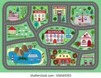 City Map Cartoon Images Stock Photos & Vectors Shutterstock