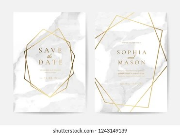https www shutterstock com image vector luxury wedding invitation cards gold metallic 1243149139