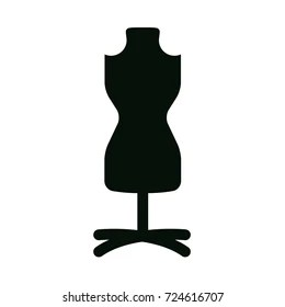 mannequin chair stand love bag fashion female torso icon stock vector royalty free with