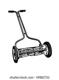 Lawn Mower Clip Art Images, Stock Photos & Vectors