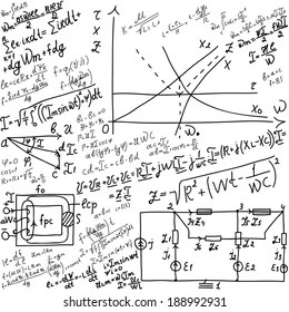 Mathematical Equations Images, Stock Photos & Vectors