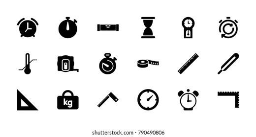 Imágenes, fotos de stock y vectores sobre Medir Icono
