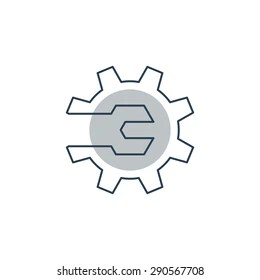 Maintenance Logo Stock Images, Royalty-Free Images