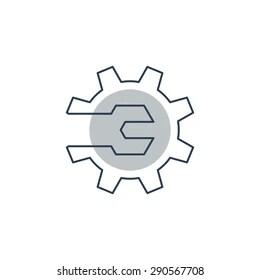 Maintenance Logo Stock Images, Royalty-Free Images
