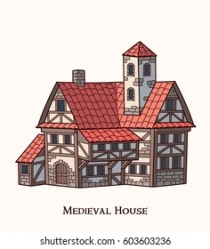 Medieval House Vector Images Stock Photos & Vectors Shutterstock