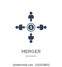 Mergers And Acquisitions Icon Images, Stock Photos