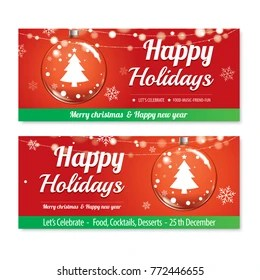 christmas email banner images