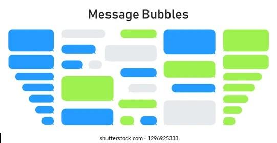 Blue Vs Green Text Box Iphone