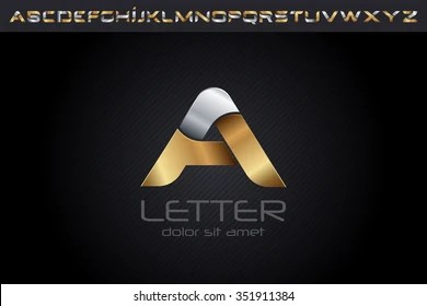alphabetical logo design images