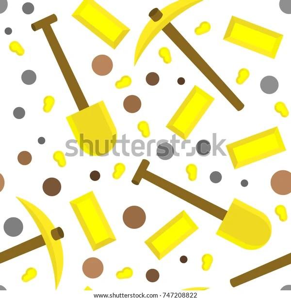 minecraft gold tools pattern