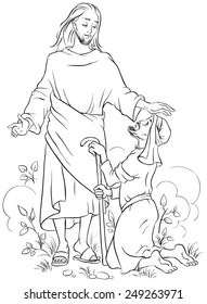 Loudlyeccentric: 32 Jesus Heals The Lepers Coloring Pages