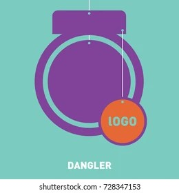So make sure that you know how to catch the consumer's attention at least digitally with the help of the triangular product dangler mockup. Mockup Dangler Stock Vector Royalty Free 728347153