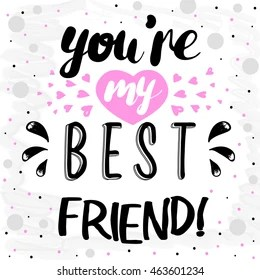 My Best Friend Images Stock Photos Vectors Shutterstock
