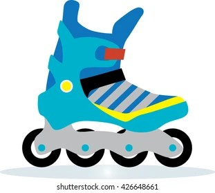 roller blades images stock