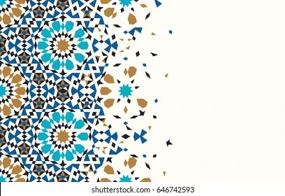 islamic background images stock