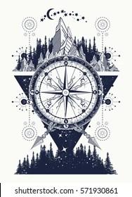 Geometric Space Tattoo : geometric, space, tattoo, Space, Geometric, Tattoo, Stock, Images, Shutterstock