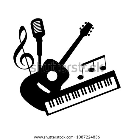 Music Pop Rock Band Group Icon Stock Vector (Royalty Free