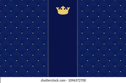 https www shutterstock com image vector navy blue seamless pattern retro style 1096372700