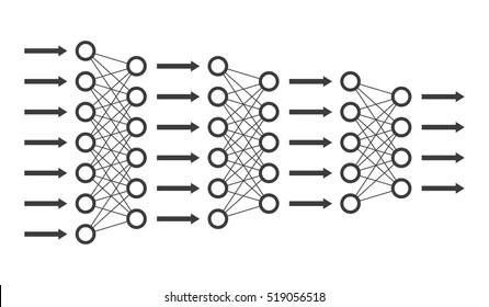 Neural Network Stock Vectors, Images & Vector Art