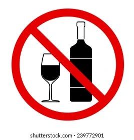 https www shutterstock com image vector no drinking sign alcohol prohibited activities 239772901