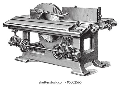 Old Woodworking Machines