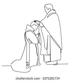 Catholic Bishop Stock Vectors, Images & Vector Art