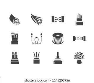 Fibre Optic Cable Images, Stock Photos & Vectors
