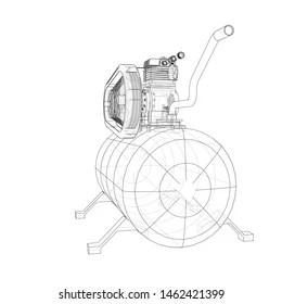 Air Compressor Stock Vectors, Images & Vector Art