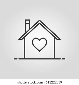 outline house images stock