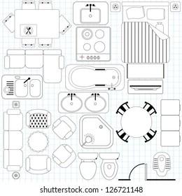 Architectural Symbols Images, Stock Photos & Vectors