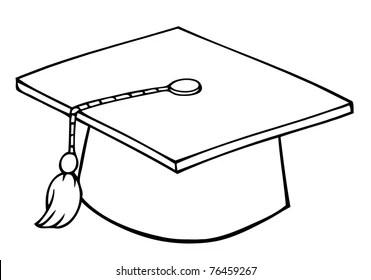 Graduation Cap Cartoon Images, Stock Photos & Vectors