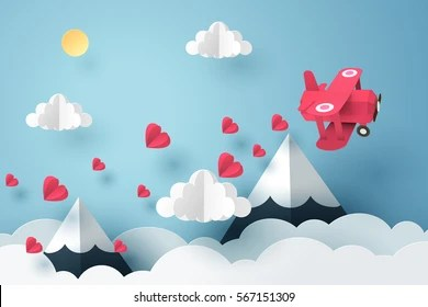 origami cloud images stock