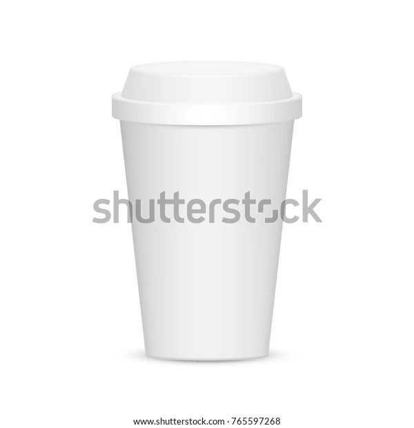 paper plastic coffee cup