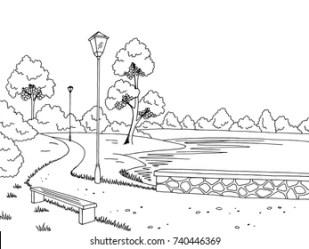 Garden Sketch Images Stock Photos & Vectors Shutterstock