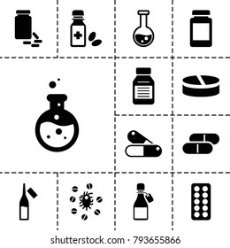 Pharmaceutical Icons Stock Images, Royalty-Free Images