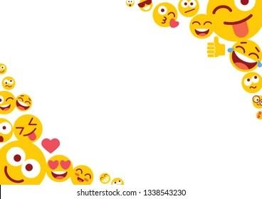 Funny Emoji Background Images